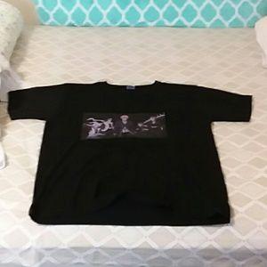 Bleach anime black t shirt